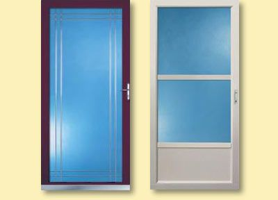Storm Doors Bee Window Fishers In